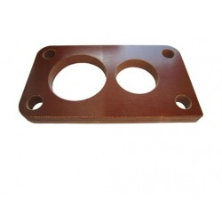 Carburettor base flange