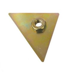 Driehoek voor spiegel rechts 2CV