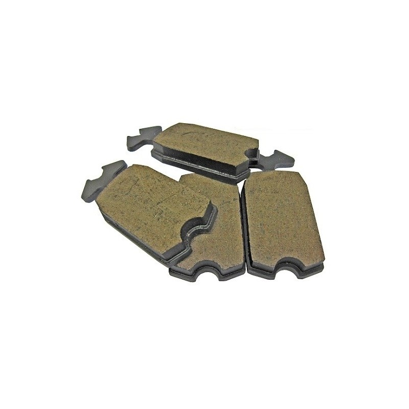 Brake Pads Set 2cv Ceramic Vooruitblik 2cv